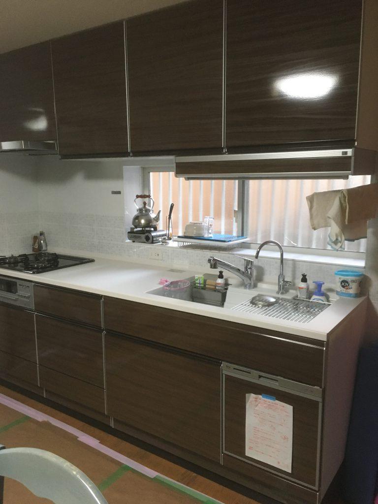A様邸システムキッチン工事