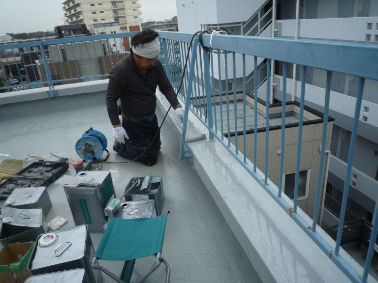 板橋区上板橋Sビル 防水工事