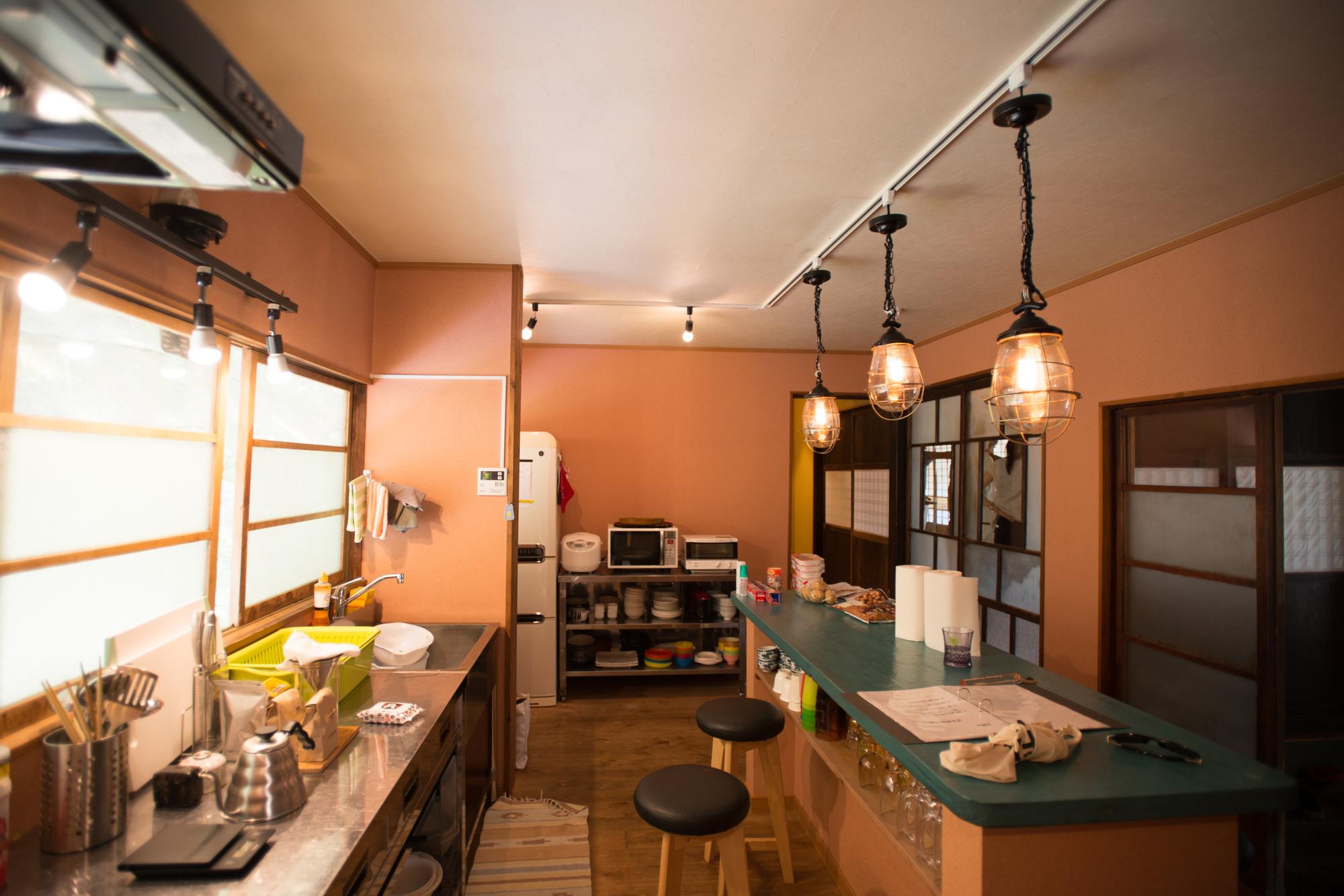 夢のキッチン|ライティングレール