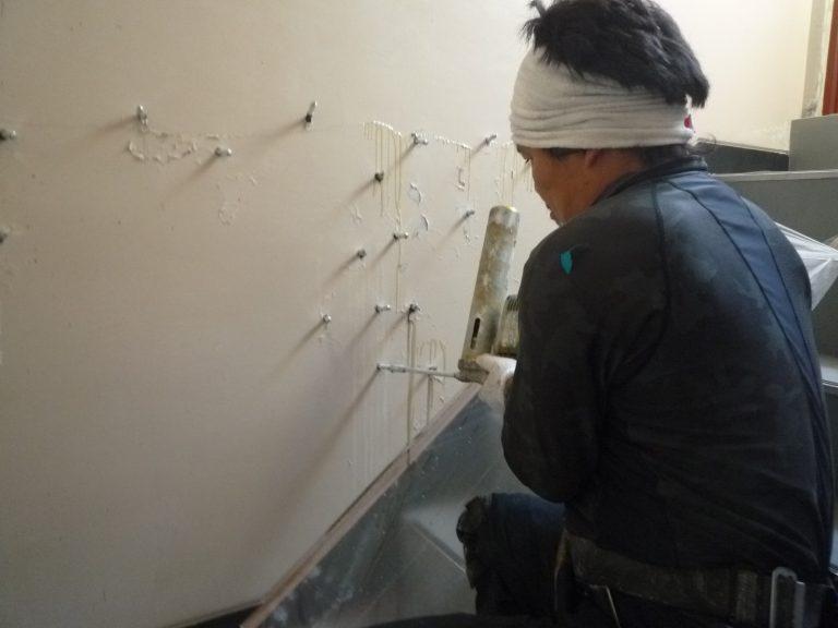 板橋区上板橋Sビル階段室防水工事