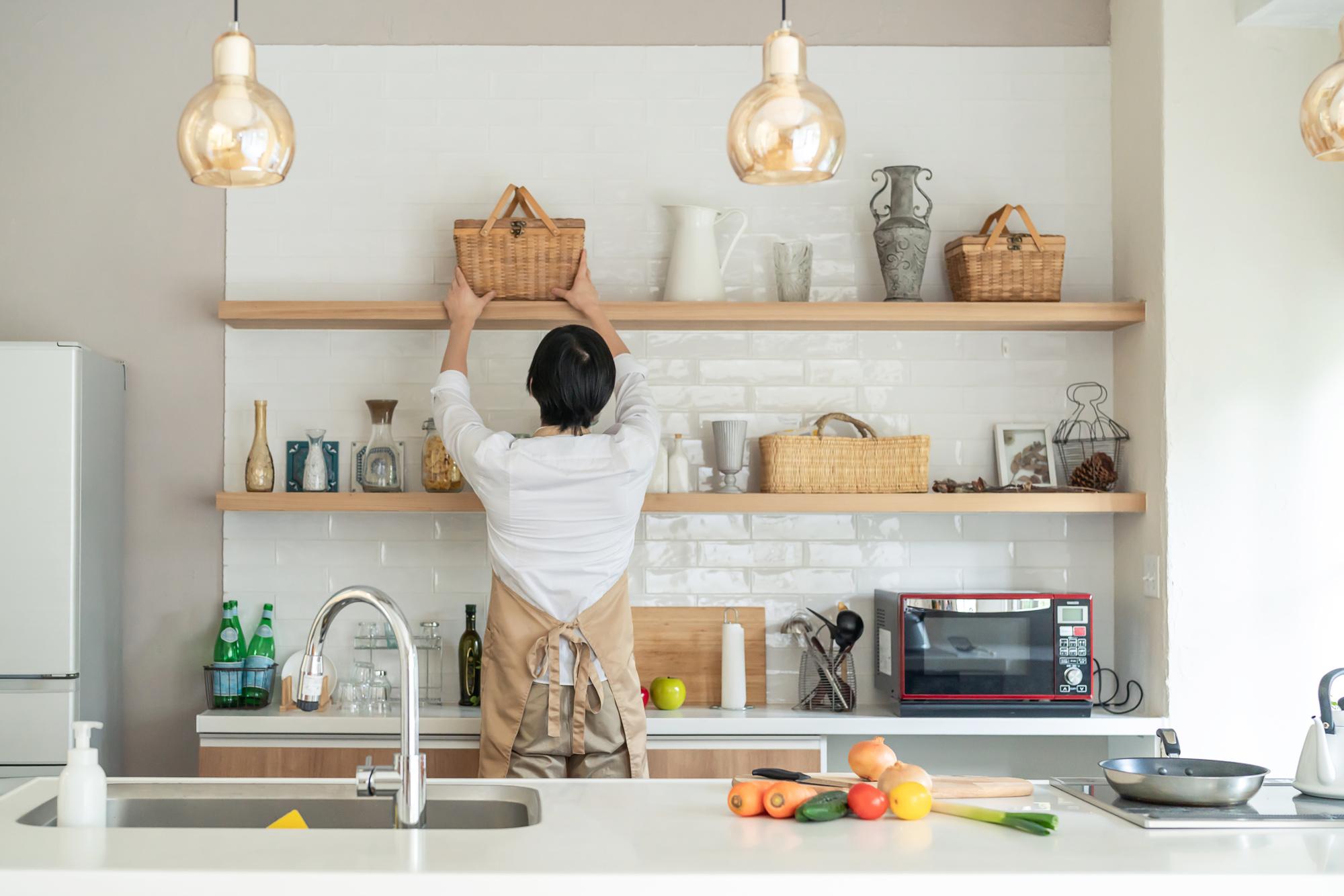 オリジナルキッチン収納