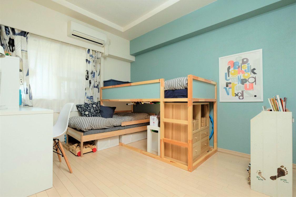 子ども部屋のベッド|練馬区