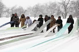 小千谷の雪晒し体験|練馬