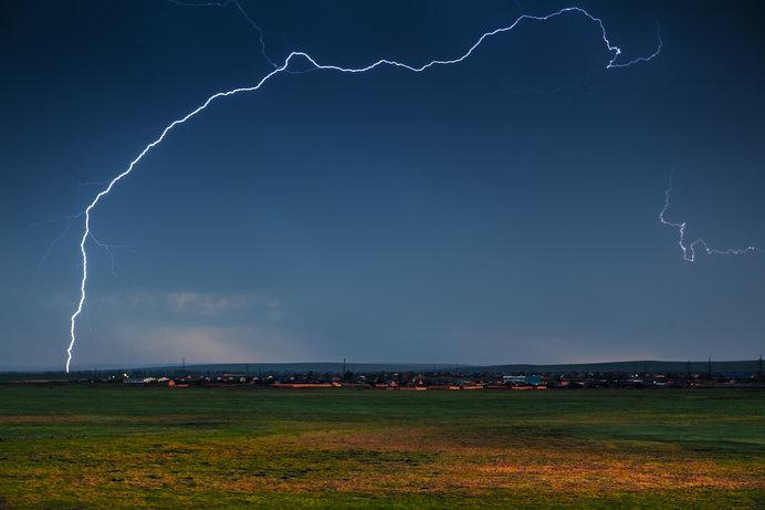練馬区の雷