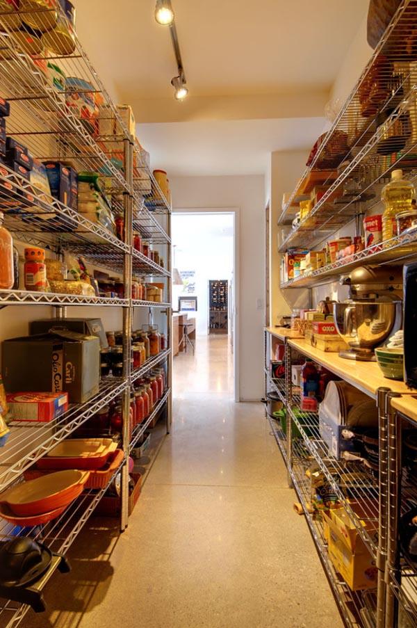 既製品ラック使用食品庫