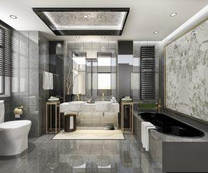 練馬のゴージャスな浴室
