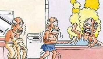 練馬の寒い浴室