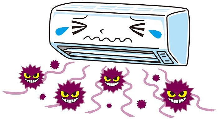 エアコンのカビ対策