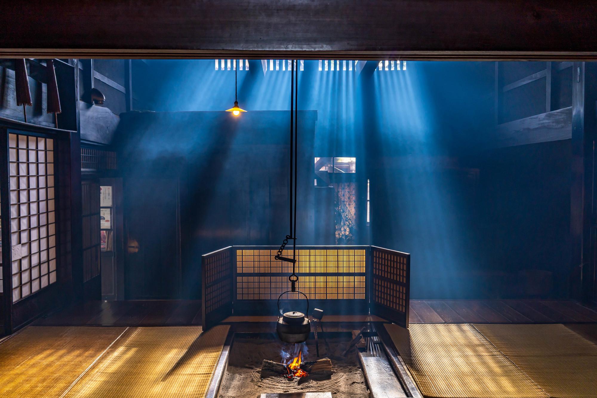 練馬区の囲炉裏