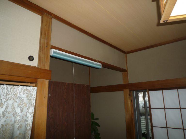 H邸和室 壁、天井工事