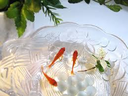 最暑の金魚