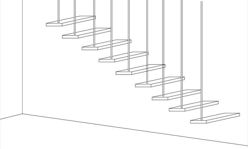 吊り階段構造 練馬