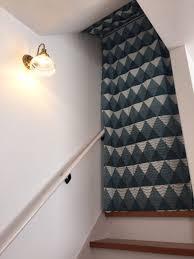 吹き抜け階段カーテン