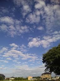 天高く馬肥ゆる秋の空