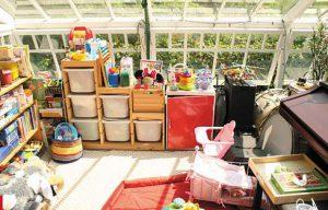 子供部屋とおもちゃ収納