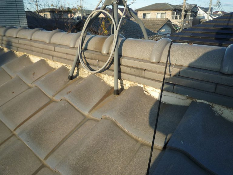 K邸屋根雨漏り修理