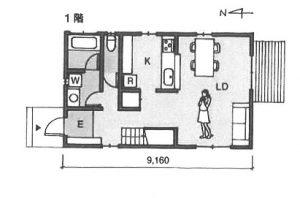 ハウスメーカー1階