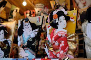 羽子板市歌舞伎