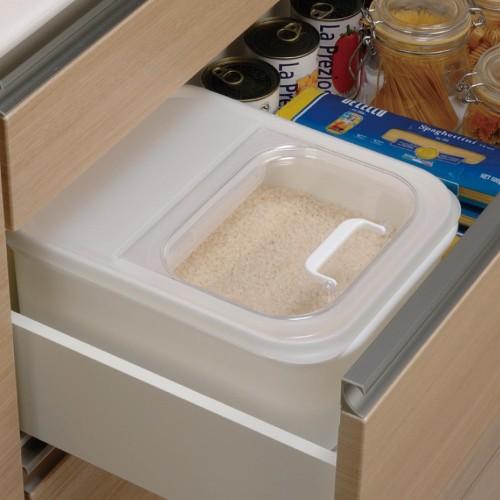 ビルトイン引出し米びつケース