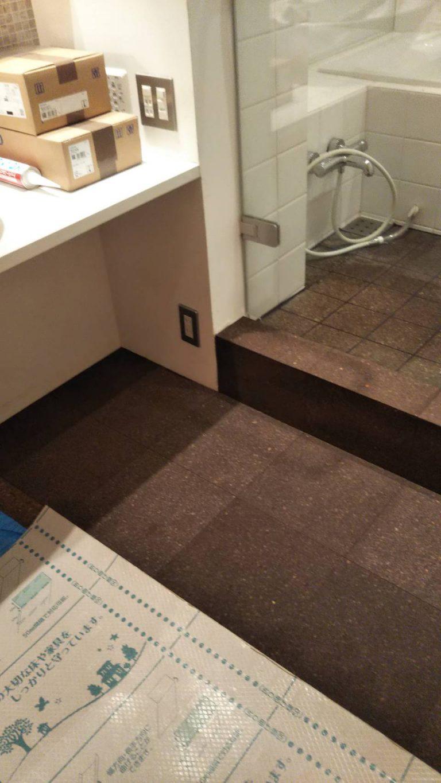T邸浴室洗面室床修理