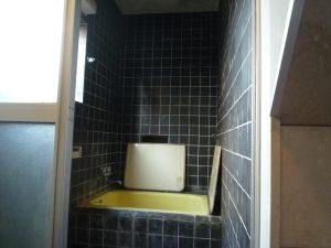 工事前浴槽