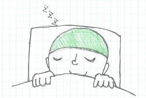 快眠を誘う 寝室