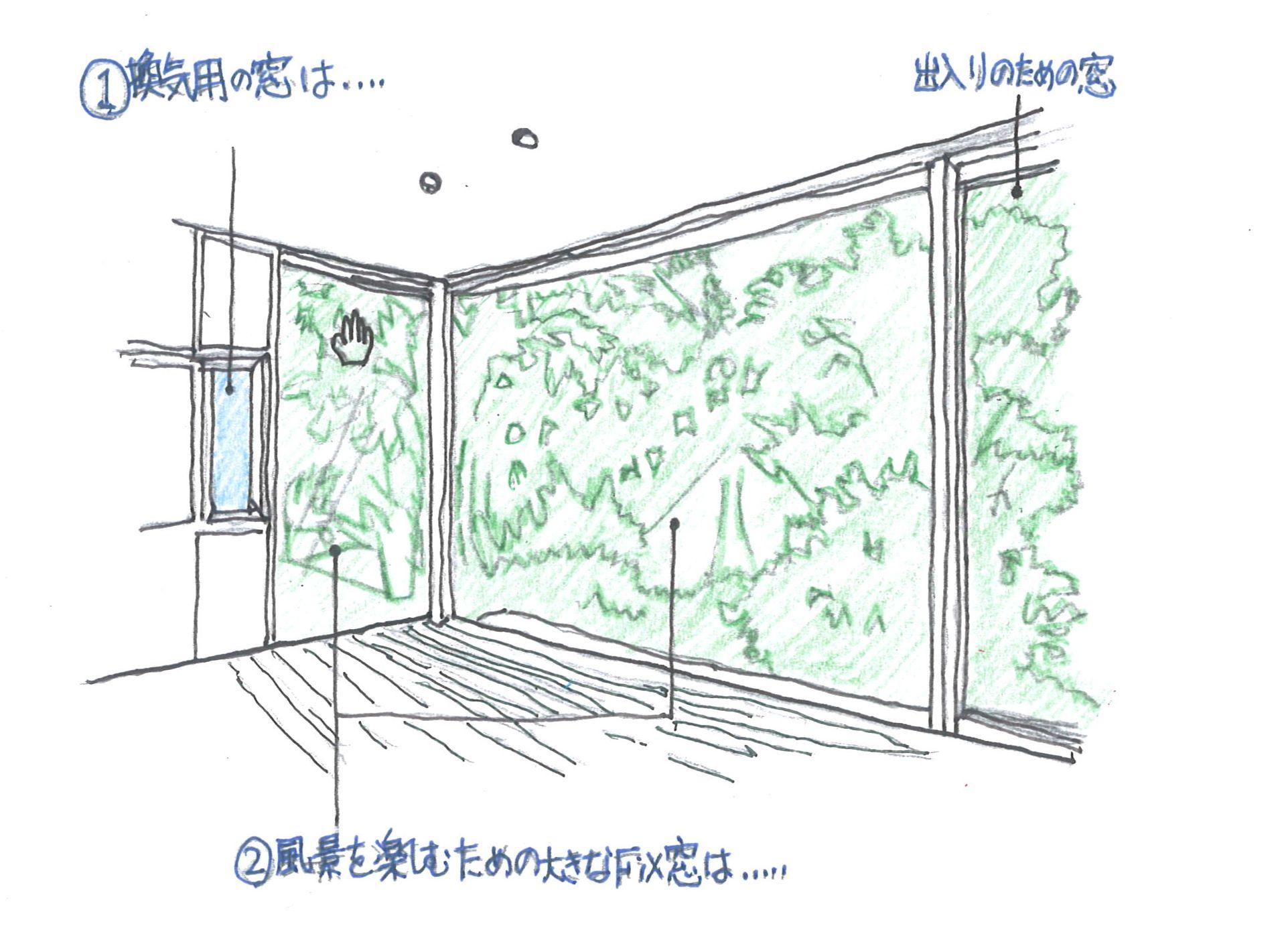 内と外を繋ぐ窓