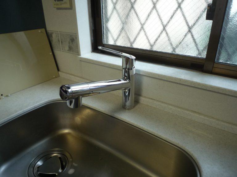 T邸流し台水栓工事