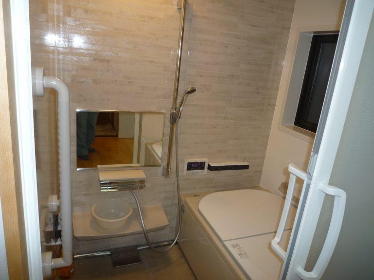 O邸浴室断熱システムバス工事
