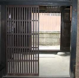 上田家住宅玄関