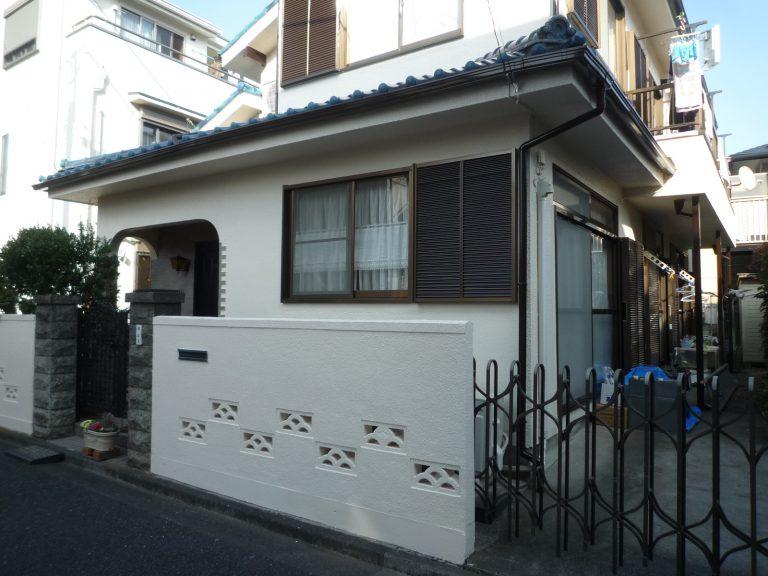 H邸外構塗装工事