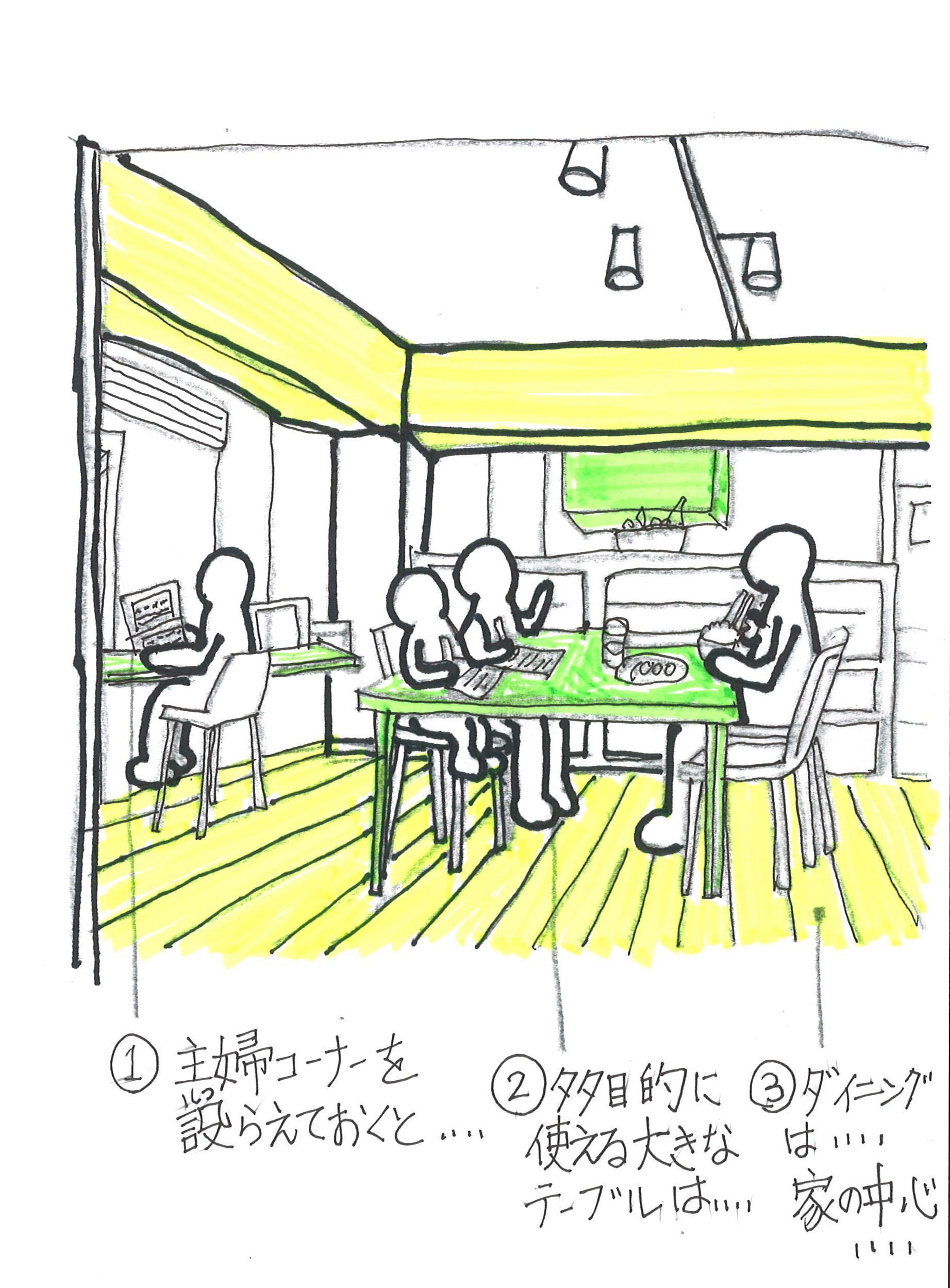 家族が集まる居心地の良い食卓とは?