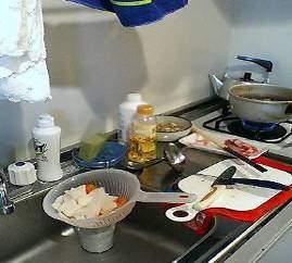 キッチン家事