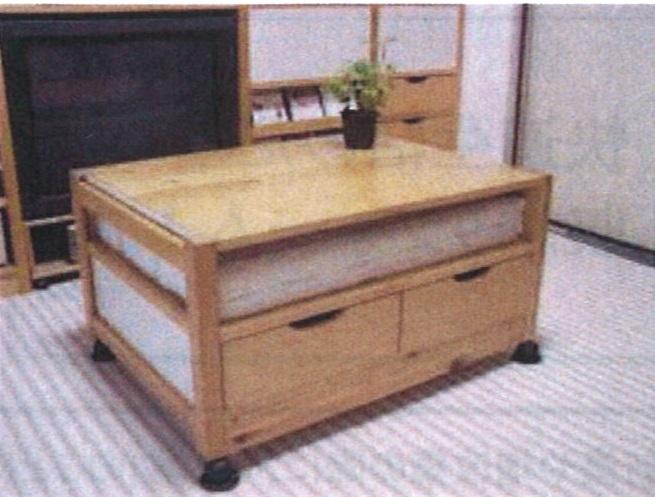オーディオ収納用家具