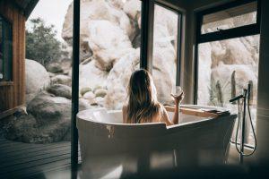 景色が愉しめる浴室