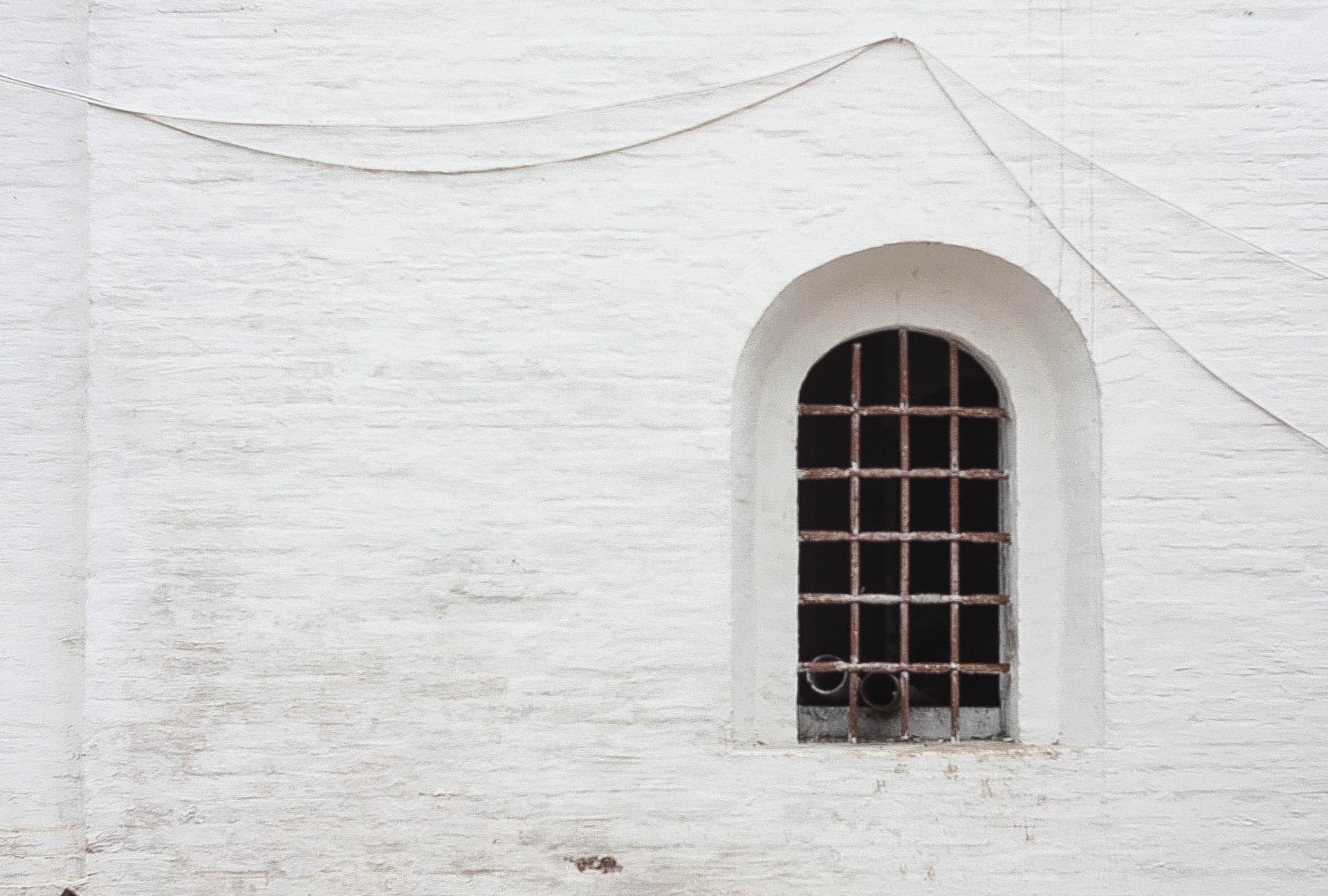 アルコーブの窓